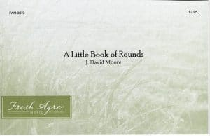 Sheet music cover image for choral composition A Little Book of Rounds