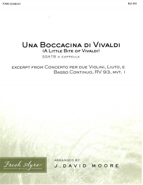 Una Boccacino di Vivaldi (A little bite of Vivaldi) 1