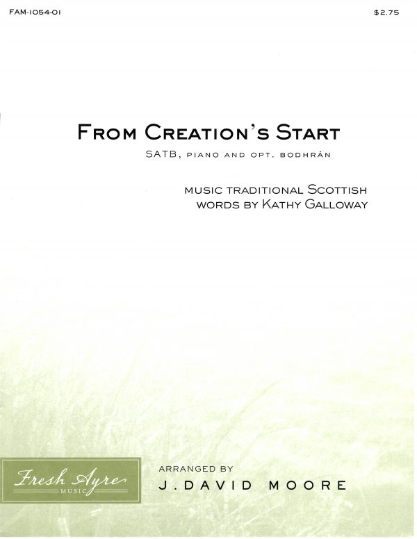 From Creation's Start 1