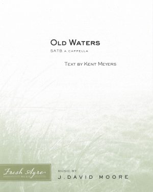 Sheet music cover image for choral composition Old Waters